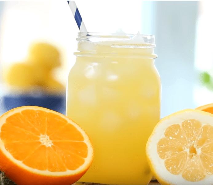 Alcoholvrije zomer Sinaasappel met tijm limonade-alcoholvrije limonade-limonade recept-zensitivity.nl