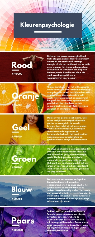 kleur psychologie-zensitivity-betekenis kleur